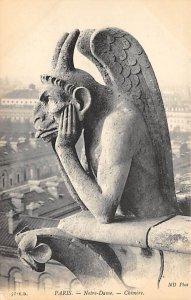 Paris Notre Dame Gargoyle Unused