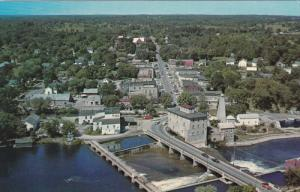 Aerial View of Fenelon Falls, Ontario, Canada, 40s-60s