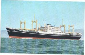 M.S. Santos Maru, O.S.K. Line, chrome
