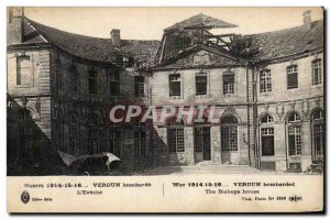 Verdun - bombarded the & # 39Eveche - Old Postcard
