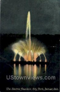 The Electric Fountain, City Park - Denver, Colorado CO