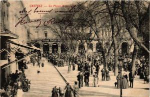 CPA Castres La Place Nationale (615010)