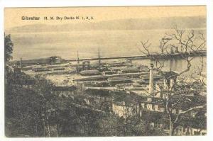Gibraltar: H.M. Dry Docks n.1,1,3., 00-10s