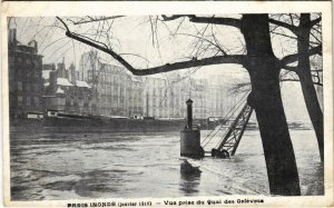 CPA Inondations PARIS 1910 Quai des Orfevres (970961)