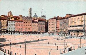 Siena Piazza Vittorio Emanuele Italy 1953