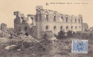 Ruines de NEUWPOORT, West Flanders, Belgium; Les Halles, Cote Sud, 00-10s