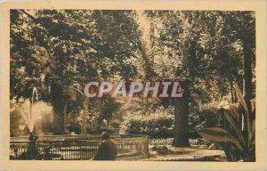Postcard Toulon Old Town Garden