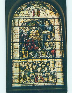 Pre-1980 STAINED-GLASS WINDOW AT CHURCH Philadelphia Pennsylvania PA AD0925