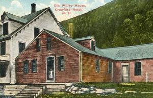 NH - White Mountains, Crawford Notch, Old Willey House