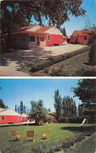Osceola Iowa Elms Plaza Motel Multiview Vintage Postcard K54750