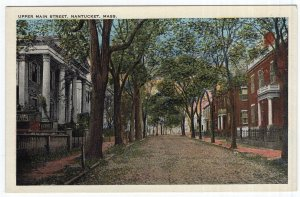 Nantucket, Mass, Upper Main Street