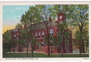 Kentucky Glasgow Barren County Court House Curteich