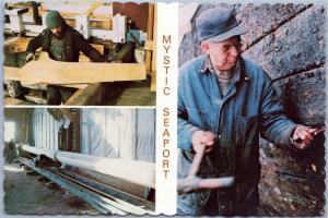 Mystic Seaport, Connecticut - Henry B. Du Pont Preservation Shipyard