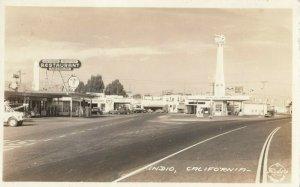 RP: INDIO , California , 1930-40s ; Street