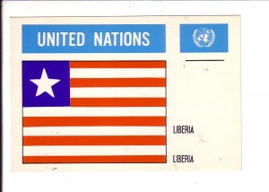 Liberia Flag, United Nations