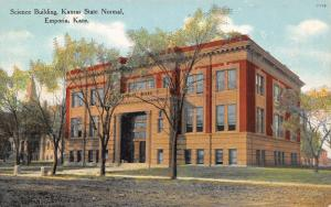 Emporia~Kansas State Normal~Science Bldg~Emma Got Geography~Stuffed Birds~1909