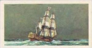 Brooke Bond Vintage Trade Card Saga Of Ships 1970 No 15 H M S Centurion