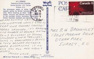VICTORIA, British Columbia, Canada, PU-1971; B.C. Ferries, Ferries Division
