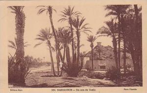 Marrakesh , Morocco, 00-10s ; Un coin du Gueliz