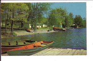 Boat Dork, Lakeside Cottages White Lake, Ontario, Row Boats