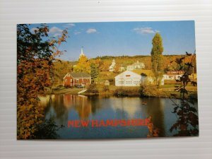 Vintage Postcard East Andover New Hampshire Highland Lake 1988 unposted   678