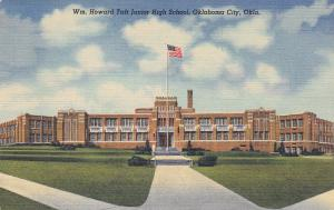 OKLAHOMA CITY, Oklahoma, PU-1949; Wm. Howard Taft Junior High School
