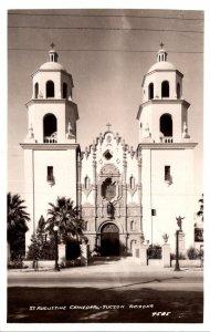 Arizona Tucson St Augustine Cathedral Real Photo