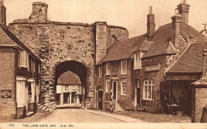 Rye The Land Gate Cottages Postcard