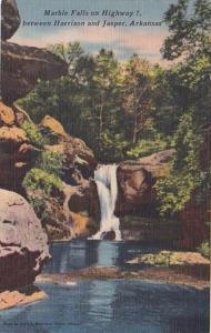 Arkansas Marble Falls On Highway 7 Between Harrison and Jasper