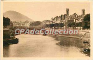 Old Postcard Besancon (Doubs) Le Doubs to bridge Beating