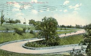 PA - Pittsburgh, Schenley Park, Serpentine Drive
