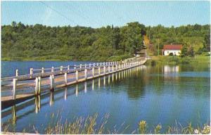 The Floating Bridge Brookfield Vermont VT