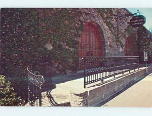 Unused Pre-1980 RESTAURANT SCENE Hammondsport New York NY p5791