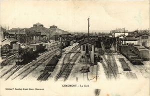 CPA AK Chaumont - La Gare (368737)