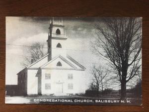 Congregational Church, Salisbury, New Hampshire NH D10