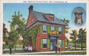 Home Of William Philadelphia Pennsylvania 1937