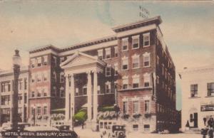DANBURY , Connecticut, 1910-30s ; Hotel Green