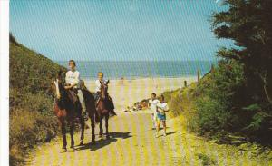 Horseback Riders Catholic Camp St Francis For Boys Watsonville California