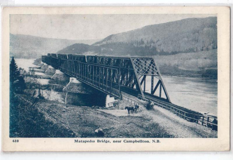 Matapedia Bridge, Campbellton NB