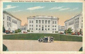 USA Harvard Medical Schools and Courtyard Boston Mass 03.06