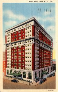 New York Utica Hotel Utica 1944 Curteich