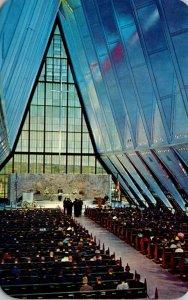 Colorado Colorado Springs Protestant Chapel U S Air Force Academy