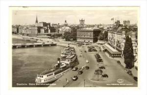 RP  Stockholm. Sodra Blasieholmshamnen, Sweden, 1940s