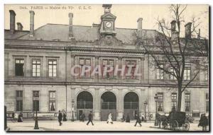 Paris - 6 - Mairie du VI district - Old Postcard