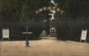 Salem NH Canobie Lake Park Theatre c1905 Postcard
