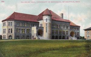 Minnesota Minneapolis Pillsbury Hall University Of Minnesota