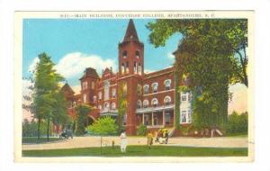 Main Building, Converse College, Spartanburg, South Carolina, 1910-1920s