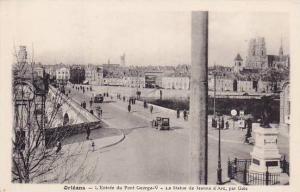L'Entree Du Pont George-V, La Statue De Leanne d'Arc, Par Gois, Orleans (Loir...