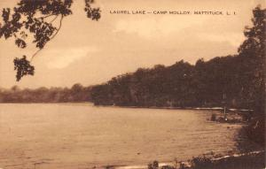 Mattituck New York Camp Mollou Laurel Lake Antique Postcard K93423