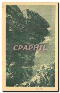 Old Postcard The General cap and pig Tete